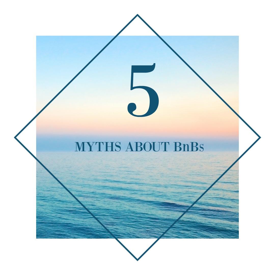 5 myths about bnbs